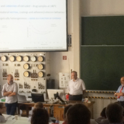 Panel discussion with Prof. Bismarck, Prof. Williams and Prof. Voelkel